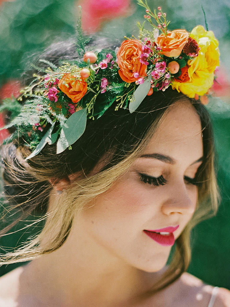 How To Incorporate Flower Crowns In Your Athens Weddings