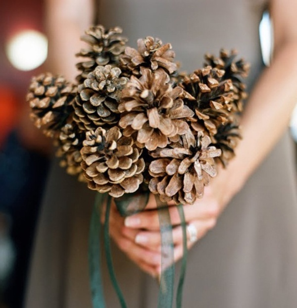 pincecone-bouquet-wedding-ideas