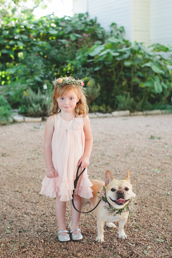 dog-flower-girl-wedding