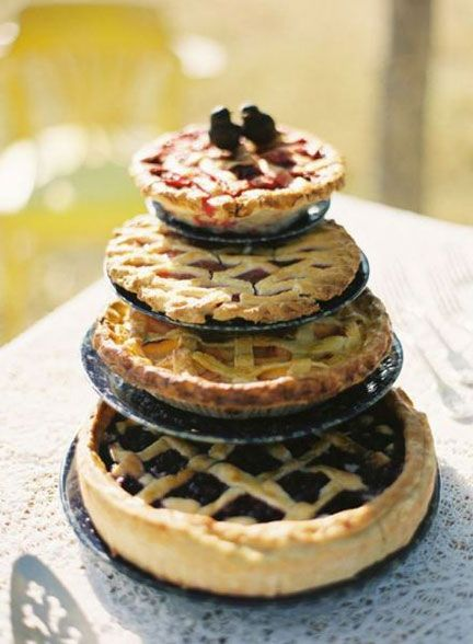 pie tower